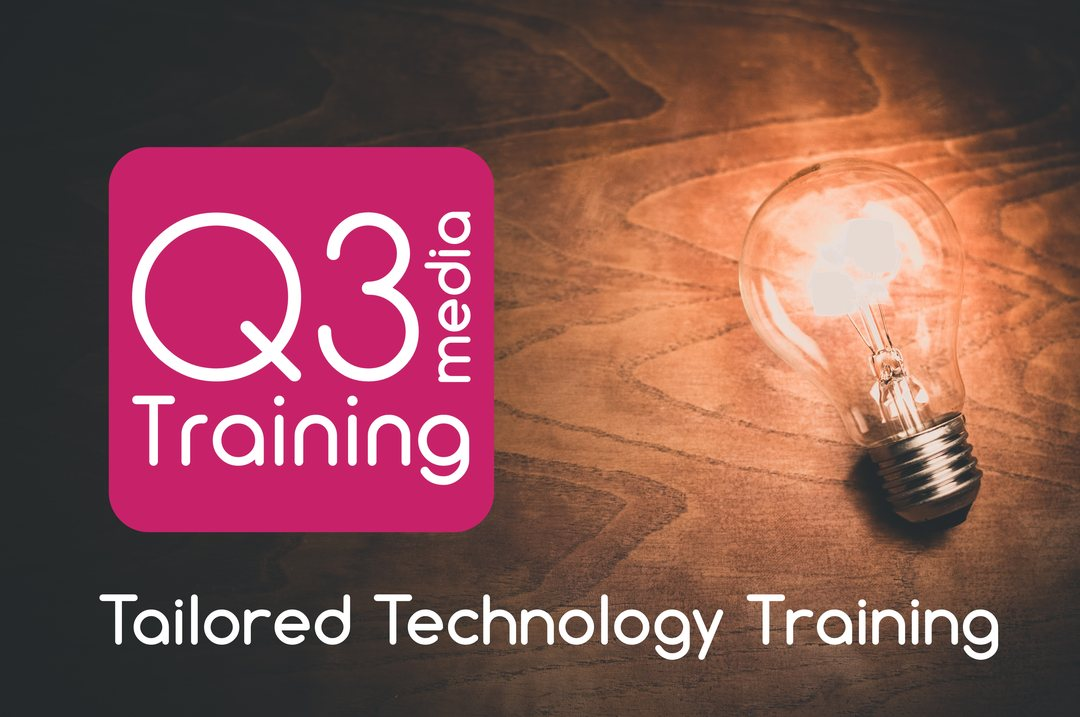Q3 Media Training Slide - Tailored Technology Training