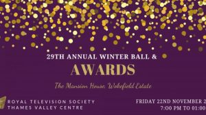 RTS Thames Valley Winter Ball & Awards 2019