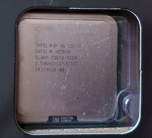 Fake Intel i5-9600K cpu