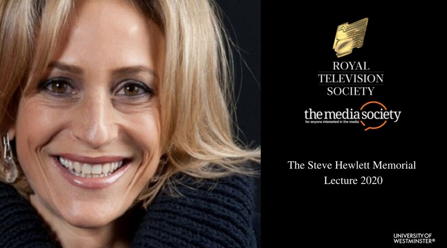 Emily Maitless to present Steve Hewletr Memorial Lecture
